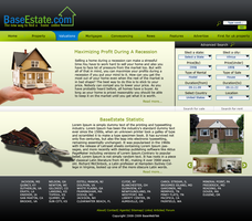 Houses for rent web design by repiano