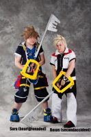 Sora and Roxas by secondaccident