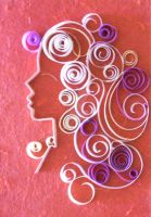 Quilling-Curleena by JyotiRaut