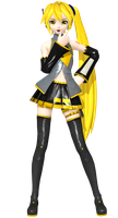 Project Diva Arcade Future Tone Default Neru by Luke-Flame