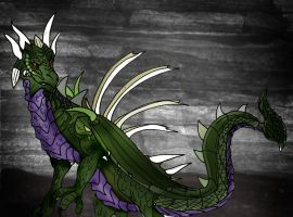 Envious Razorthorn by Selinelle