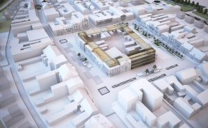 Old Town Square revitalisation concept, Szamotuly by yelloo