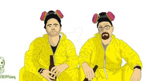Breaking Bad - Hardened cookers by Vecthand