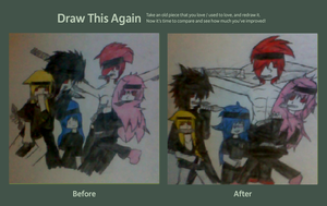 Draw this again challenge by Kaixue