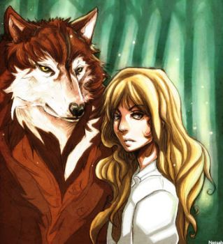 Jacob and Renesmee by netsah