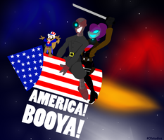 Anti-Hero's Fourth of July Explosive Extravaganza by CKToonStudios