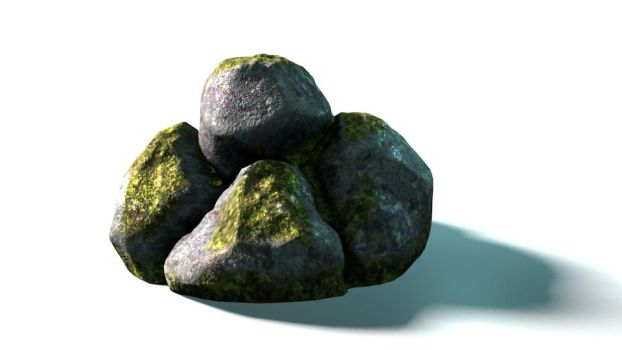 Stones Sculpt and texture study by artkalev