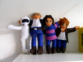 Top Gear Plushies - Group by AustraliumSiren
