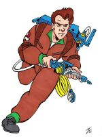 Dr. Peter Venkman by zombiegoon