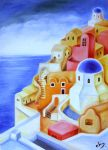 Santorini Daylight by Chrissie-Lou