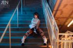 Portal 2 chell by Its-Raining-Neon