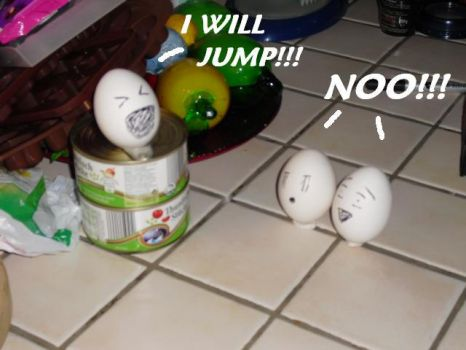 jumping egg XD by Gotteu