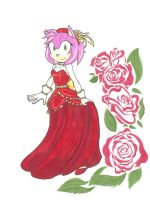 Bell of the Ball_Amy Rose by Ila-Mae