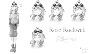 Sora character, Rose Rockwell by mcdrawalot