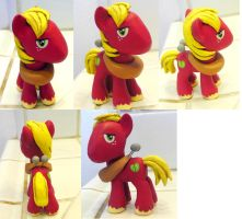 MLPFIM Big Macintosh custom by davisaroflmao