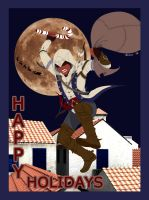 Assassin Holiday Card 2012 by Injectable