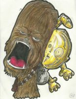 chewy and 3po by alllan