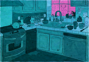 Kitchen by wick-y