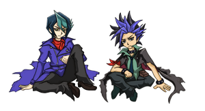 Yu-Gi-Oh! Arc-V [Chibi Rebellion] by Yuko-Tsukechi