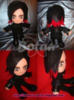 Jared Leto plush version by Momoiro-Botan