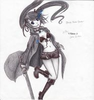 Black Rock Shooter by V5Beta