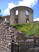 Borgholm Castle East tower by SASWHITEKNIGHT