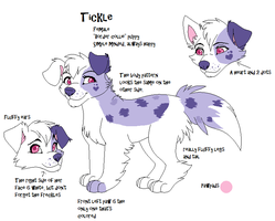 Tickle Character Chart 2013 by Kainaa