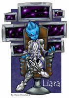 Liara by badgerlordstudios