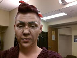 Stage makeup- oldage by MistressCakes