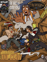 Proving Grounds Mock Comic Book Cover by Bug-Off