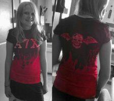 A7X Dyed T-shirt by Averin-Renee