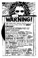 Warning Tract With Stronger Contrast by jbeverlygreene