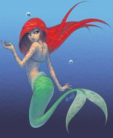 Ariel by coloring