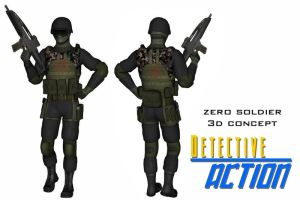 Zero Corps soldier concept by Dangerman-1973