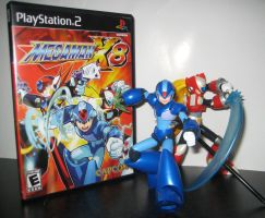 -X Cover Shoot- MegaMan X8 (updated) by Nin10doNerd