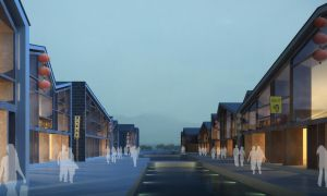 ZhouZhuang Commercial Street - Concept Render 2 by Wittermark