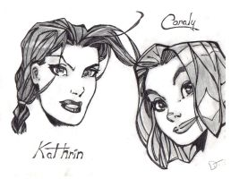 Kathrin and Coraly by DJMyster