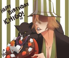 HAPPY BIRTHDAY ICHIGO!!! by UdrawMeshi