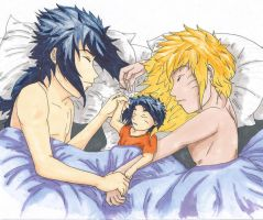 Sleepy Family by serendipity-sn