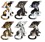 Feline Breedables -CLOSED- by VentriIoquist