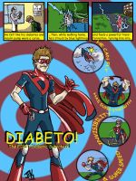 First Diabetic Superhero! - Commission by Jarrett-Ervin