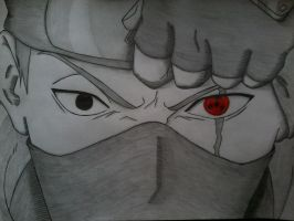 Sharingan in the Eye by Byakuya1619
