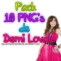 Pack PNG de Demi Lovato by BelievingInMyDreams