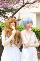 Taiga and Rei - Acen 2013 by Shinigami-X