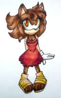 AT: Scarlet The Hedgehog by Dream-Beam