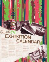 Exhibition Calendar 2007-8 by CoreyxCMYK