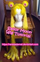 Sailor Moon Tutorial Wig by renataeternal