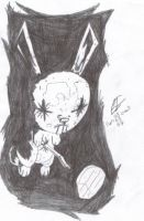 Nail Bunny by vegalume