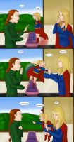 Supergirls v Mr Ninja pg 37 by LexiKimble