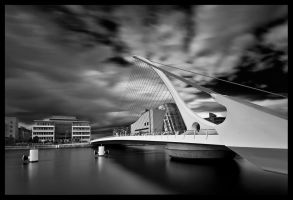Samuel Beckett Bridge by M-M-X